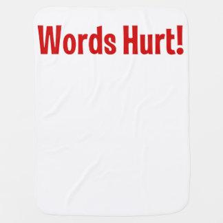 傷つく単語 ベビー ブランケット