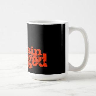 傷つく頭脳 コーヒーマグカップ