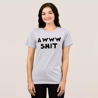 傷つけるTumblrのTシャツAww Tシャツ