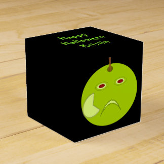 傷のハロウィンのカスタムな好意箱が付いている邪悪なApple フェイバーボックス