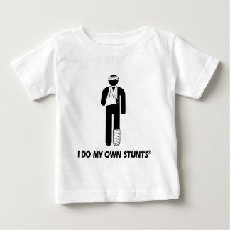 傷害私の自身の発育阻害 ベビーTシャツ