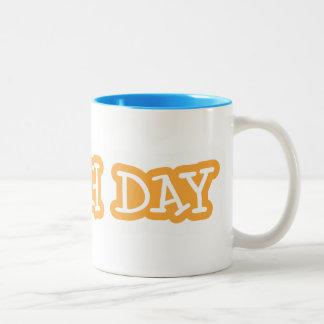 傷日2色のマグ ツートーンマグカップ
