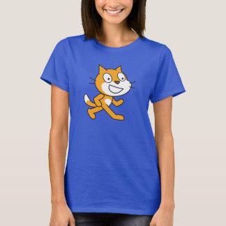 傷猫のワイシャツ(レディース) Tシャツ