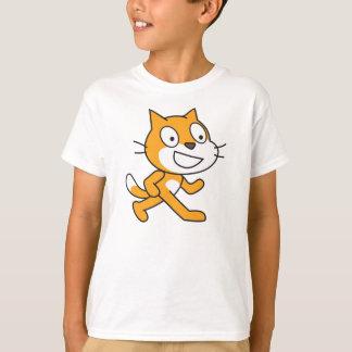 傷猫のワイシャツ(子供) Tシャツ