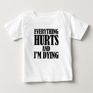 傷 ベビーTシャツ