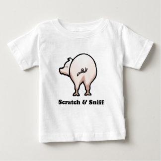 傷nのスニファのベビーのTシャツ ベビーTシャツ