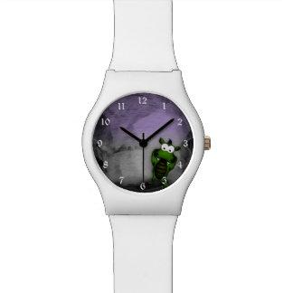 傾けられたドラゴン 腕時計