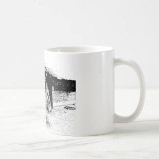 傾斜の離れ家 コーヒーマグカップ
