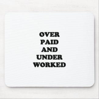 働かせるの下で払い過ぎられる マウスパッド