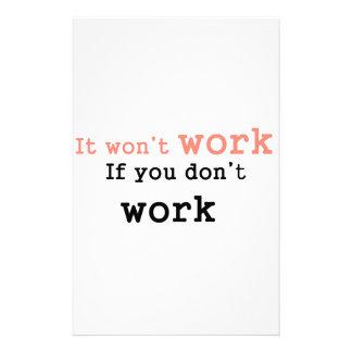 働かなければそれwon'work 便箋