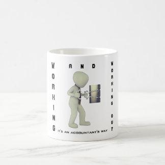 """""""働き及び解決します: それはです会計士の方法"""" コーヒーマグカップ"""