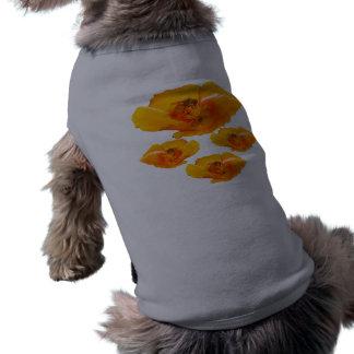 働き者のケシ犬のワイシャツ ペット服