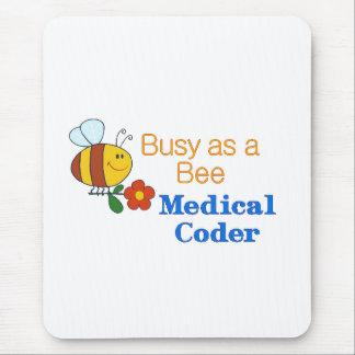 働き者の医学のコーダー マウスパッド