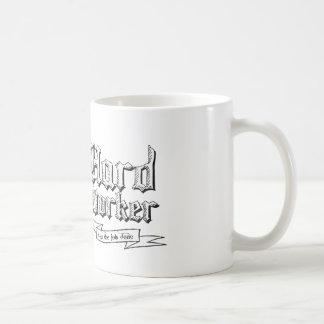働き者: 仕事を終らせます コーヒーマグカップ