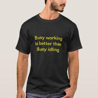 働くこと Tシャツ