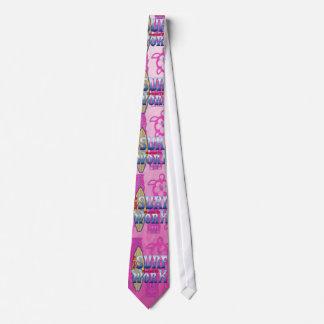 働くためにサーフするために強制生まれて下さい オリジナルネクタイ