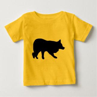 働くボーダーコリーのギア ベビーTシャツ