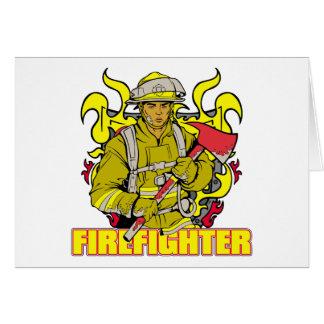 働く消防士 カード