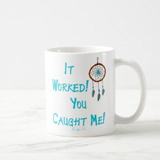 働くDreamcatcher コーヒーマグカップ