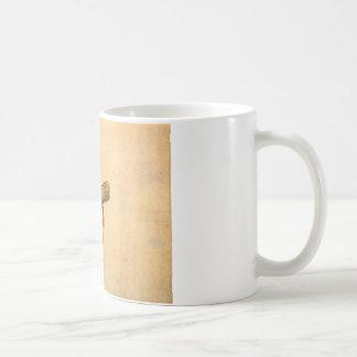 儀式のタカはKatsushika Hokusaiを待機します コーヒーマグカップ