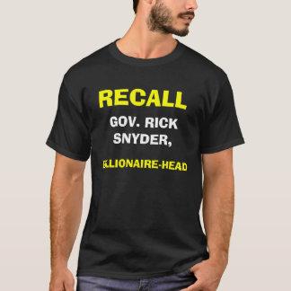 億万長者ヘッドSnyder Tシャツ