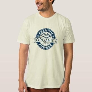 優れたオーガニックなコロラド州の粉のTシャツ Tシャツ