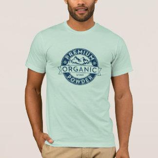 優れたオーガニックなユタの粉のTシャツ Tシャツ