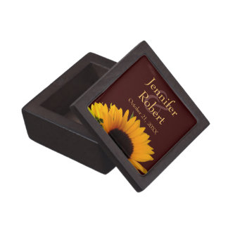優れたギフト用の箱を結婚するヒマワリ ギフトボックス