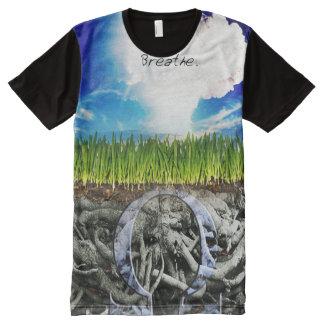 優れた完全なプリントによってはVapeのワイシャツが呼吸します オールオーバープリントT シャツ
