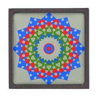 優れた宝石箱のユニークな曼荼羅のデザイン ギフトボックス