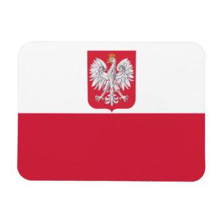 優れた屈曲の磁石ポーランドの紋章付き外衣の旗 マグネット