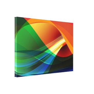 優れたWrappedCanvas (光沢)の抽象美術 キャンバスプリント
