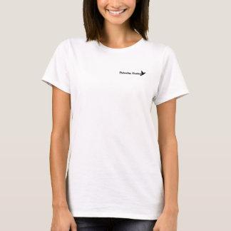 優先順位の女性のTシャツ-ライトの黒 Tシャツ