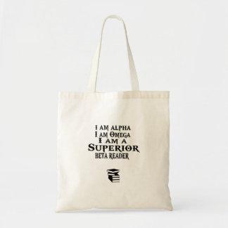 優秀なベータ読者のブックバッグ トートバッグ