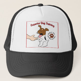 優秀な犬の訓練のロゴのスパイク キャップ