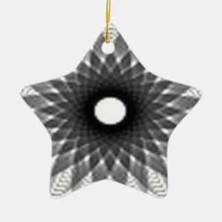優秀な螺線形のデザイン 陶器製星型オーナメント