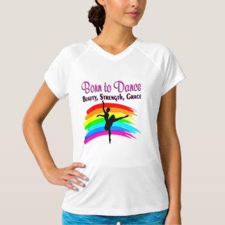 優美なバレリーナのデザイン Tシャツ