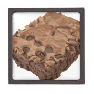 優美なブラウニーの菓子のデザート ギフトボックス