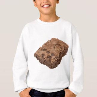 優美なブラウニーの菓子のデザート スウェットシャツ