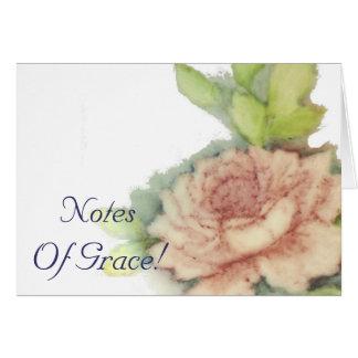 優美な英国のバラは静止カスタマイズ カード
