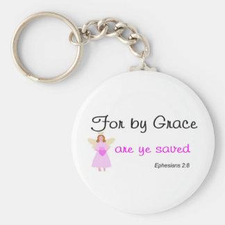 優美によってのためにyeによってEphesiansの救われる2:8は行います キーホルダー