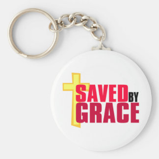 優美のキリスト教のギフトのデザインによって救われる キーホルダー