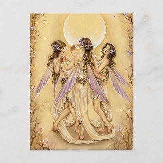 優美のダンス ポストカード