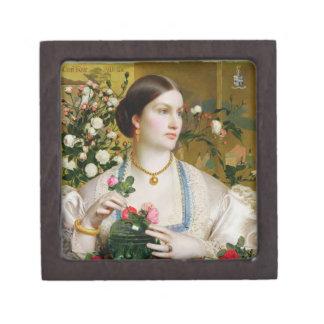優美のバラ1866年(パネルの油) ギフトボックス