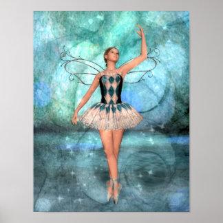 優美のバレリーナの妖精 ポスター