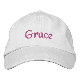 優美の帽子 刺繍入りキャップ