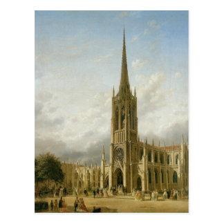 優美教会、1858年頃ニューヨーク ポストカード