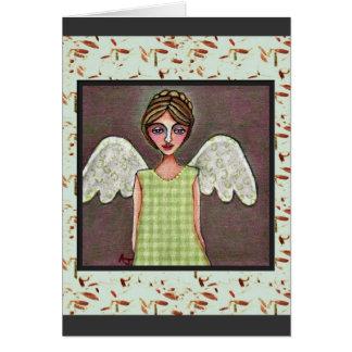 優美-挨拶状(2)の天使 カード