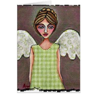 優美-挨拶状(3)の天使 カード