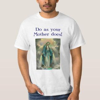 優美、y0urの母d0esとしてD0の私達の女性! Tシャツ